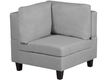 Module d'angle - fauteuil gris clair pour canapé modulable