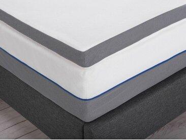 Surmatelas en mousse à mémoire de forme pour matelas 180 x 200 cm