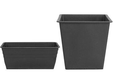 Lot de 2 cache-pots rectangulaires
