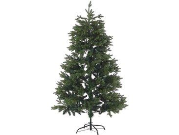 Sapin de Noël artificiel vert avec branches ajustables 210 cm de hauteur