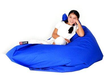 Pouf géant XXXL 140 x 180 cm bleu