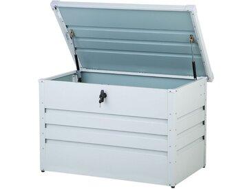 Coffre de rangement pour jardin ou terrasse 300L gris clair
