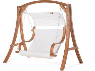 Balancelle de jardin design en bois de larix