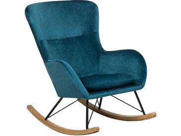 Chaise à bascule style rétro