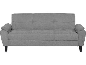Canapé-lit en tissu gris clair HALMSTAD