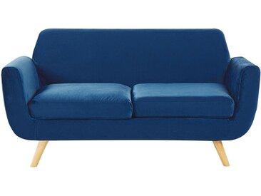Canapé 2 places au style rétro scandinave avec housse amovible