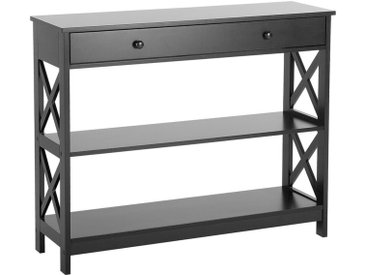 Console blanche style moderne