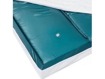 Matelas à eau dual - haute qualité - 160x200 cm - stabilisation moyenne