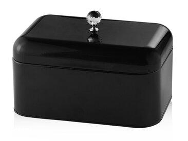 Boîte à pain noire SKARFIA