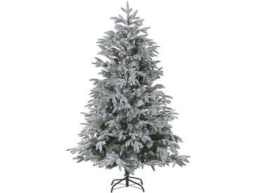Sapin de Noël artificiel vert avec effet neige blanche naturelle 180 cm de hauteur
