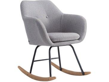 CLP Chaise à bascule Avalon tissu, gris CLP  gris