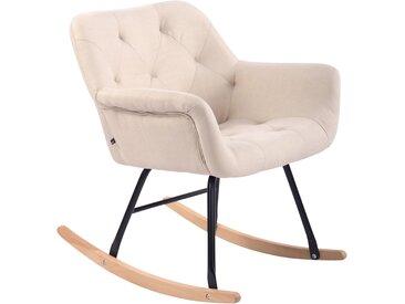 CLP Chaise bascule Cabot tissu, crème CLP  crème