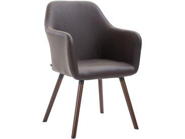 Timwood Experience Chaise de salle à manger Picard V2 similicuir, marron CLP  marron