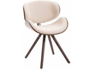 CLP Chaise de salle à manger Ortega en tissu, café/crème CLP  café/crème