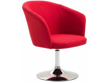 CLP Chaise lounge Arcade Tissu, rouge CLP  rouge