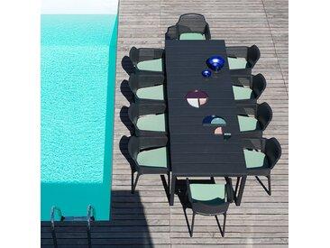 Ensemble salon de jardin Net Rio 100x160/220 par NARDI