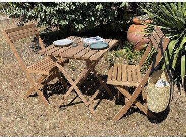 Table pliante de jardin en bois MOOREA