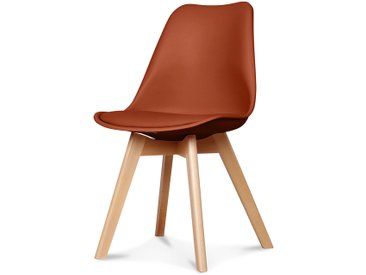 Chaise scandinave rouille 48x43xh83cm - Opjet