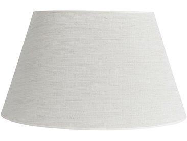 Abat-jour ovale chanvre en lin et polyester - Côté Table