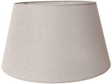 Abat-jour lin en lin et polyester - Côté Table