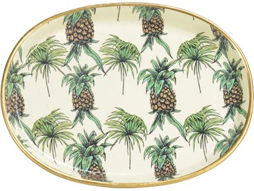 Vide-poches ananas  aureol Multicolore en Porcelaine - Côté Table