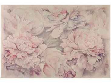 Tableau dahlia rose pale - Côté Table
