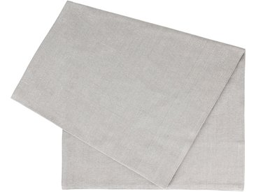 Chemin table vialactea gris,argenté 170x50cm coton - Côté Table