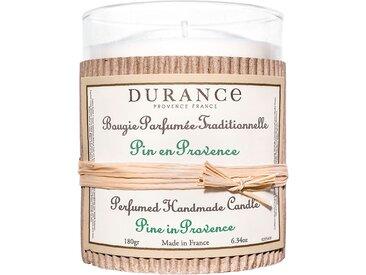 Bougie parfumée traditionnelle 180 gr pin en provence - Durance