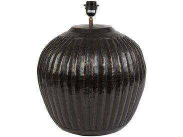 Pied de lampe  nira Noir Antique en Aluminium - Côté Table