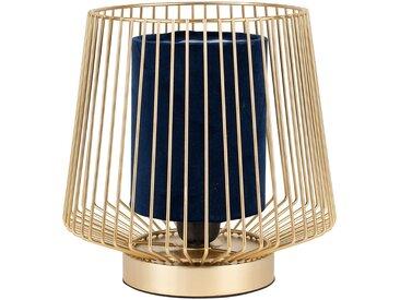 Lampe ardecor marine d20xh24cm-e27-cable 1.50m metal+velours polyester - SEMA Design