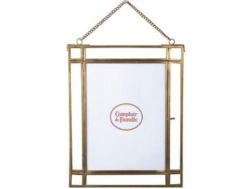 Cadre photo fleurlys dore antique - Comptoir de Famille