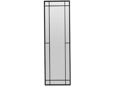 Miroir  osaka Noir en Fer, Mdf - Côté Table