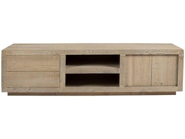 Commode tv chicago pin ancien 180x45x50 - Durieux