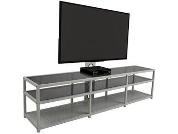 Meuble TV avec support TV LIAM Blanc