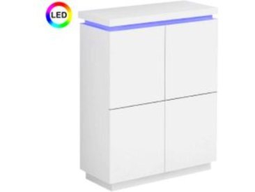 Buffet haut LED COLORS Blanc