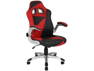 Fauteuil de bureau Gamer DUO Noir et rouge