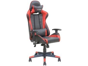 Fauteuil de bureau Gamer FURIOUS Noir et rouge