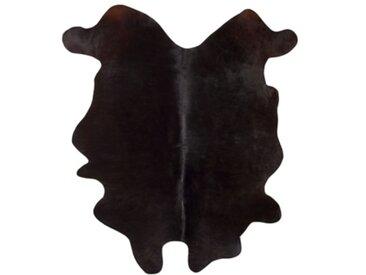 Tapis peau de vache 150x210 VERONICA Noir