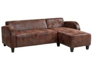 Canapé d'angle DANDY Marron