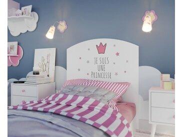 Tête de lit enfant PRINCESSE