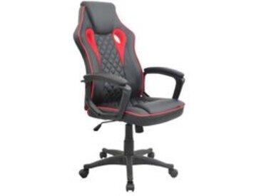 Fauteuil de bureau GTI 2 Noir et rouge