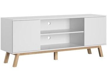 Meuble TV Vero blanc mat 150 cm