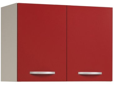 Volana Rouge - Meuble Haut 2P  80cm