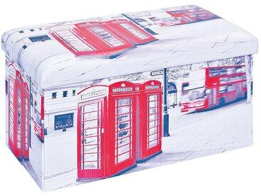 Warren XL - Pouf Coffre Pliant Londres