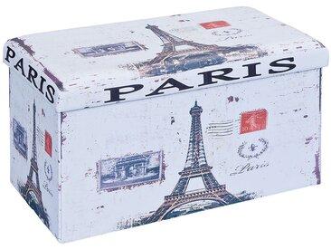 Warren XL - Pouf Coffre Pliant Paris