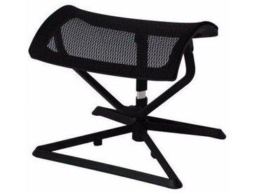 repose-pieds pour chaise de bureau réglable en hauteur coloris noir collection C-Sacir