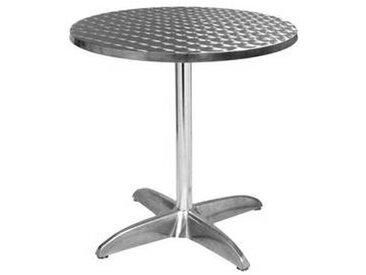 e xtra TRA-43R70 Table terrasse alu/inox diam.70cm
