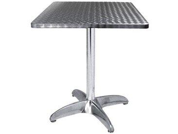 E-xtra TRA-42C60 Table terrasse alu/inox2