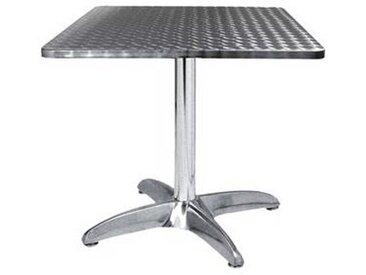 e xtra TRA-43C70 Table terrasse alu/inox 70x70 cm