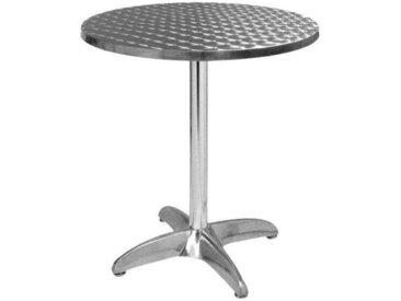 E-xtra TRA-42R60 Table terrasse alu/inox diam.60cm